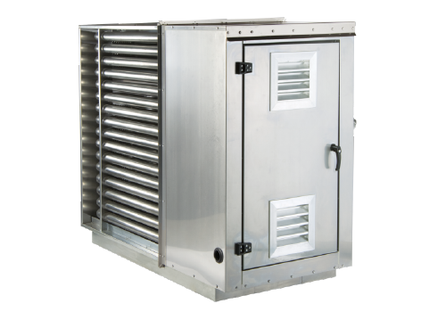 CTW indirect fired duct heater Institutional